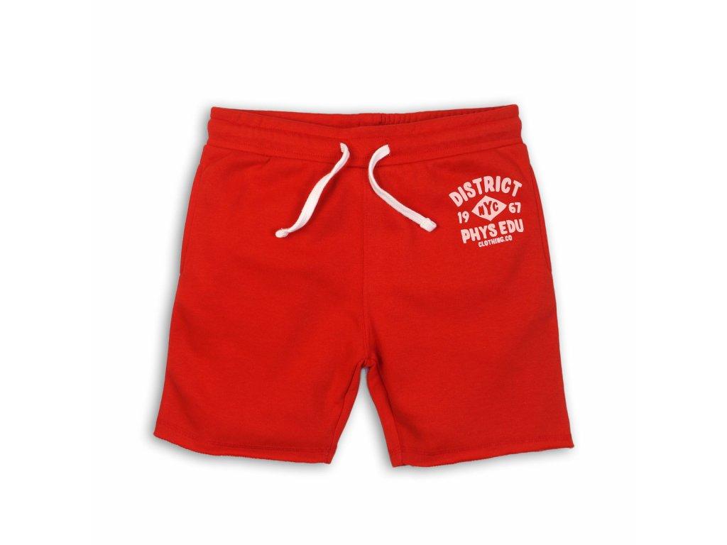 Kraťasy chlapecké Junior červená