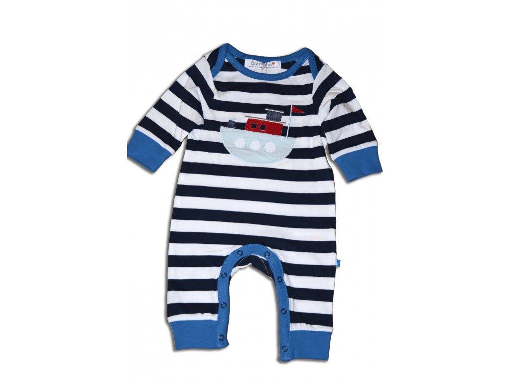overal dětský Baby tmavě modrá