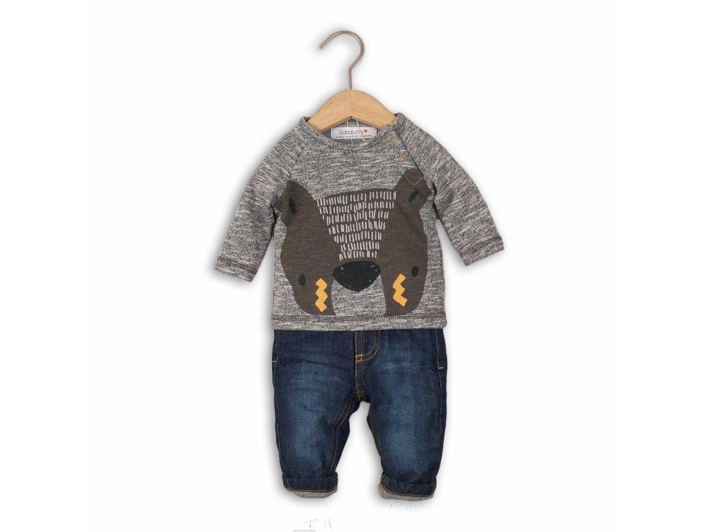 Chlapecký set, džíny a mikina Baby kluk