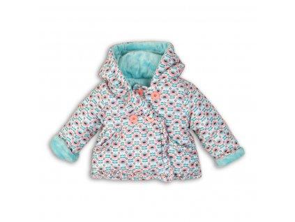 Kabátek kojenecký vyteplený Baby zelená