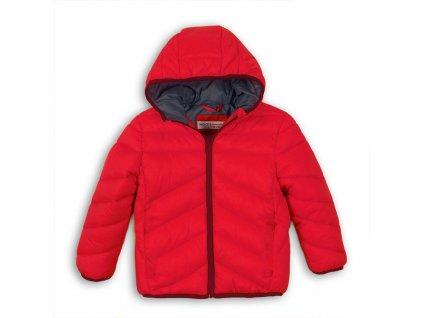 Bunda chlapecká Puffa Baby červená