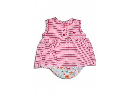šaty dívčí Baby růžová