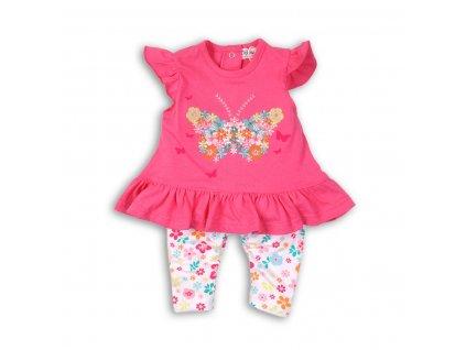 Dívčí set, tunika a legíny Baby růžová
