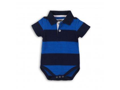 Body kojenecké s límečkem Baby modrá