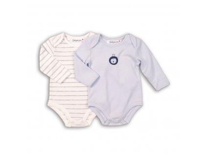 Body kojenecké bavlněné , 2pack Baby kluk