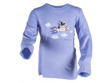 tričko chlapecké KRTEK ROCKET modrá