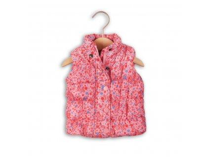 Vesta dívčí vyteplená Baby růžová