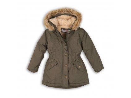 Kabát dívčí Parka Baby zelená