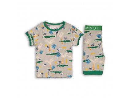 Pyžamo chlapecké: kraťasy Baby šedá