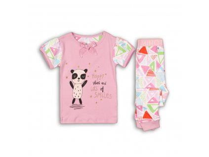 Pyžamo dívčí Baby růžová