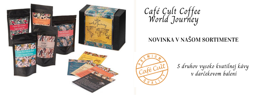 Cafe Cult darčeková sada - novinka