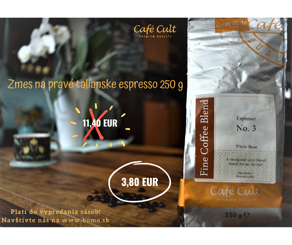 Cafe Cult Espresso No.3 akcia