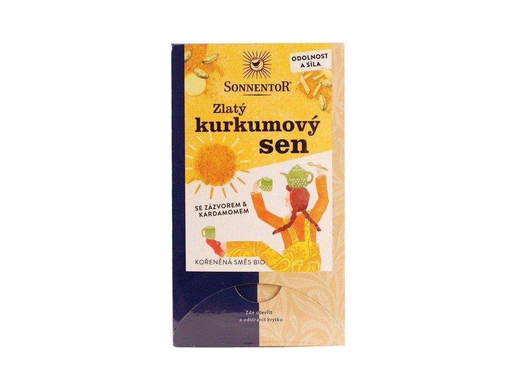 3659 caj bio zlaty kurkumovy sen 36g prebal