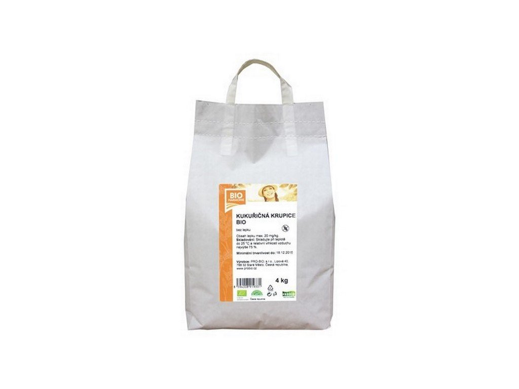 4178 gastro kukuricna krupice bio 1 ks 4 kg