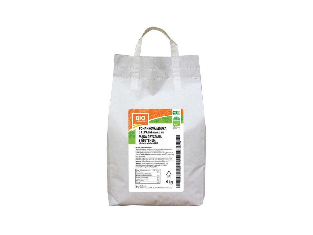 5408 gastro pohankova mouka hladka 1 ks 4 kg