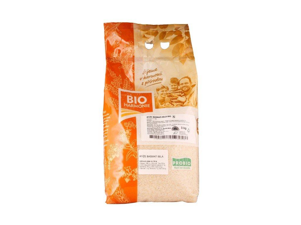 3827 gastro ryze basmati bila bio 1 ks 3 kg