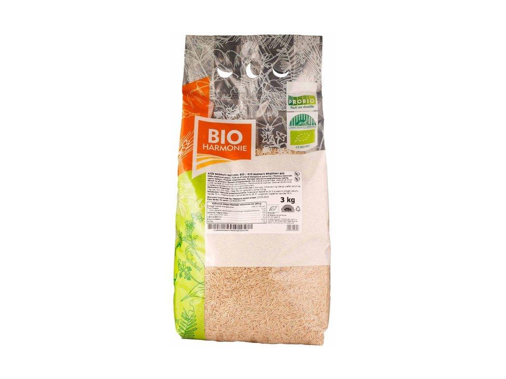 3824 gastro ryze basmati natural bio 1 ks 3 kg