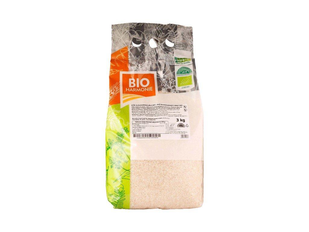 4373 gastro ryze dlouhozrnna bila bio 1 ks 3 kg