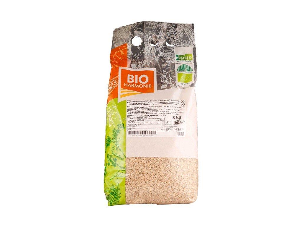 5846 gastro ryze dlouhozrnna natural bio 1 ks 3 kg