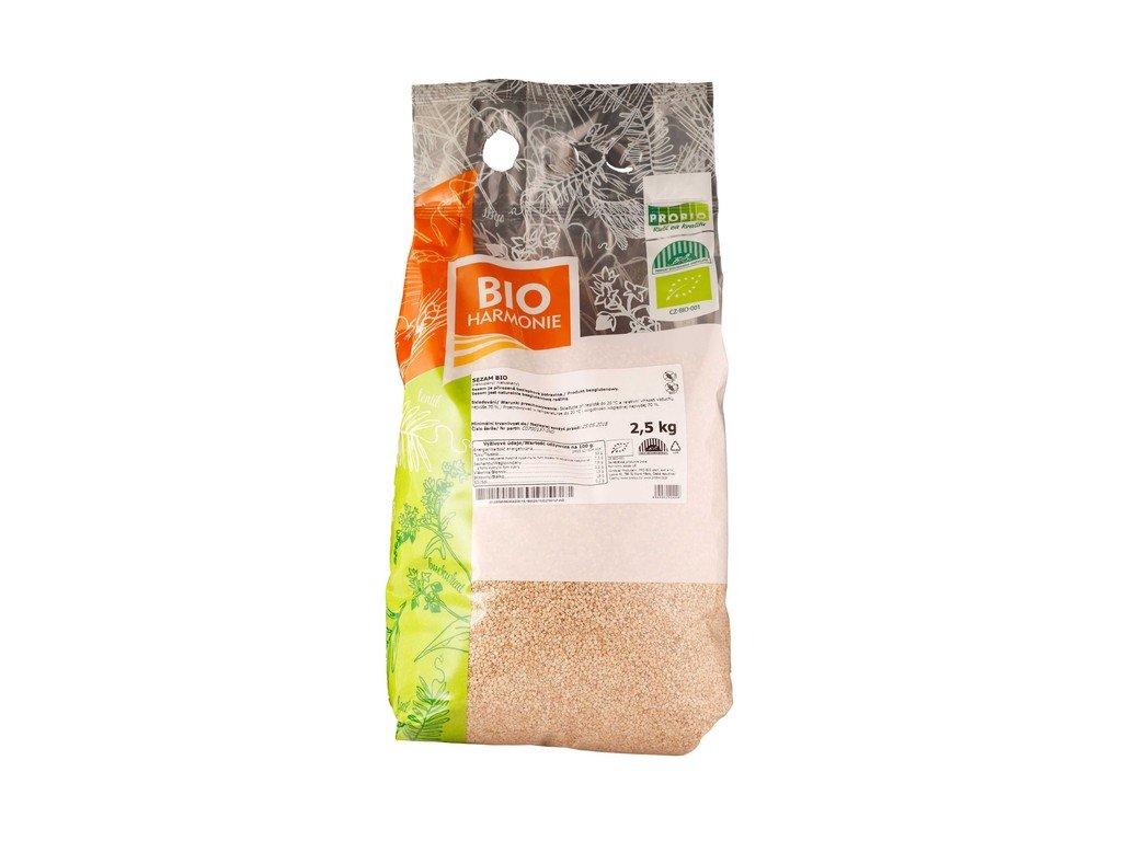 4466 gastro sezam neloupany bio 1 ks 2 5 kg