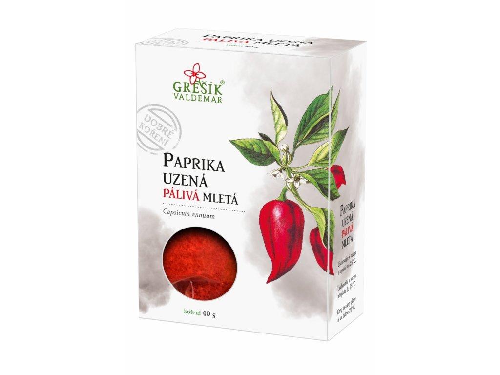 Paprika uzená pálivá mletá 30g