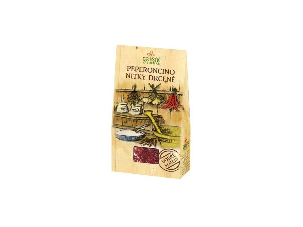Peperoncino nitky drcené 3g