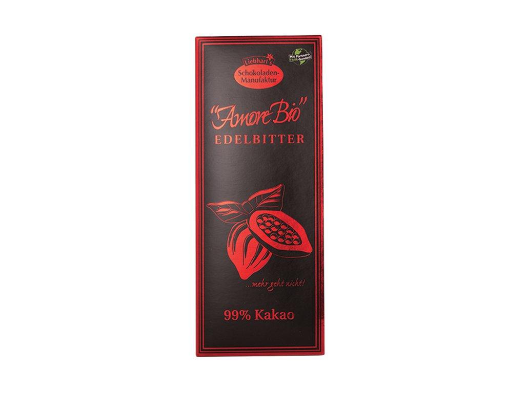4682 horka cokolada 99 kakao liebharts bio 80 g