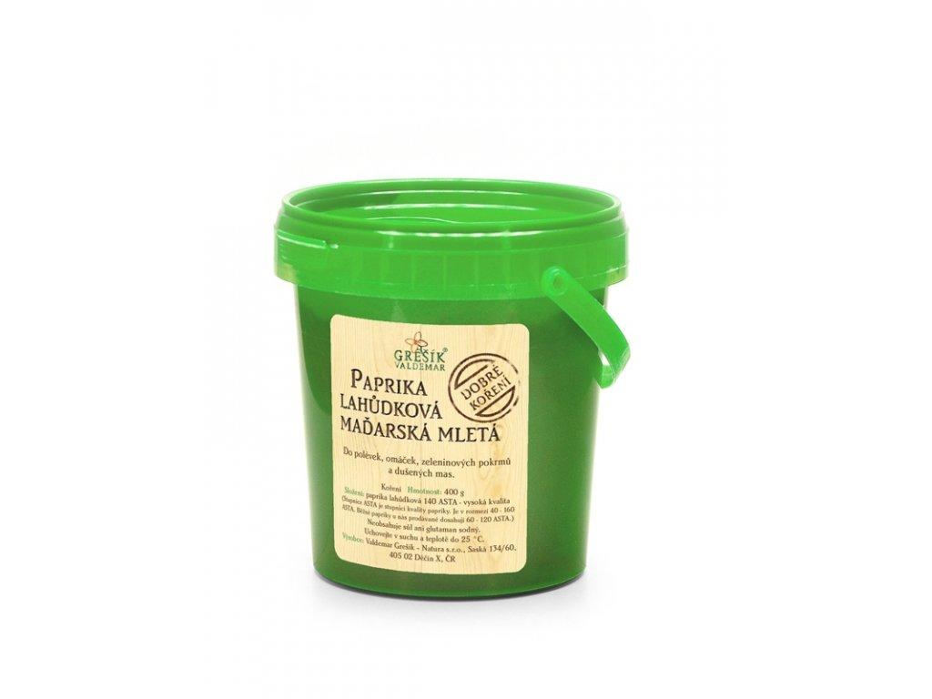 Grešík Paprika lahôdková maďarská mletá 400 g