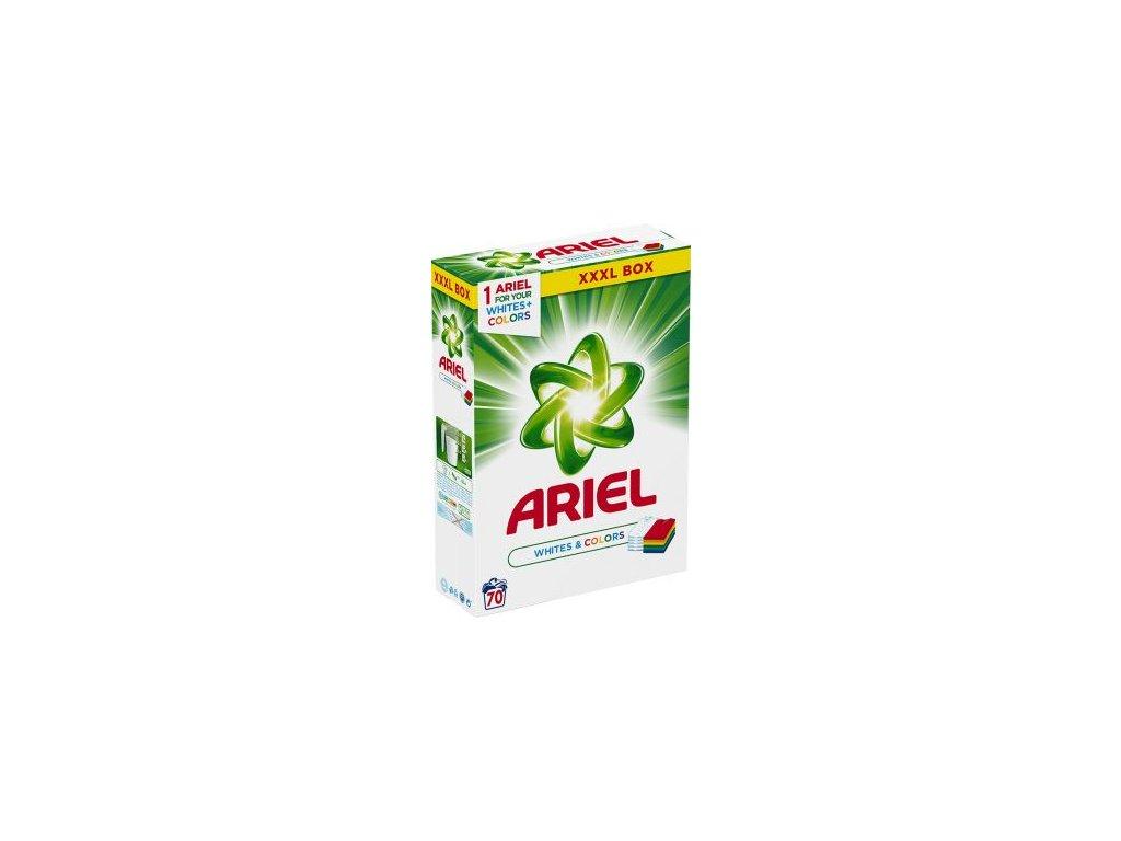 Ariel White & Color 5,25 kg prášek na praní