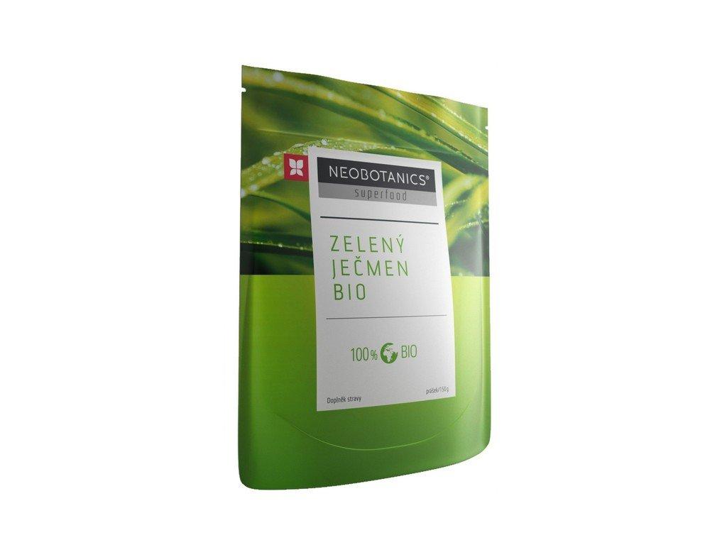 5525 jecmen zeleny 150 g bio doplnek stravy