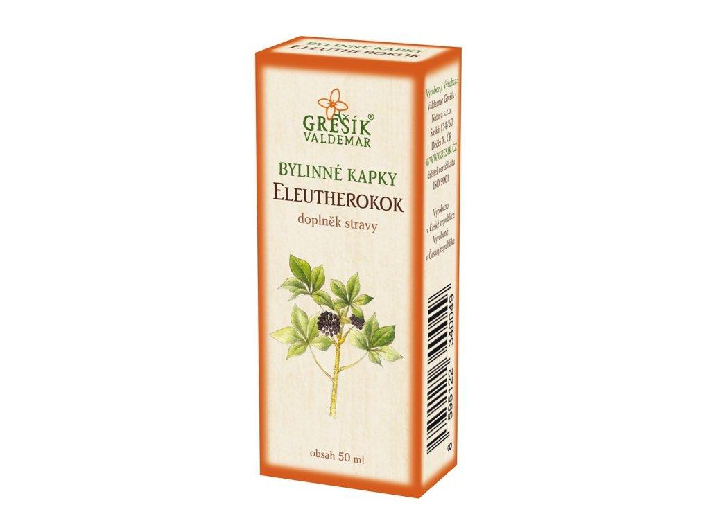 Grešík Eleutherokok kvapky 50 ml