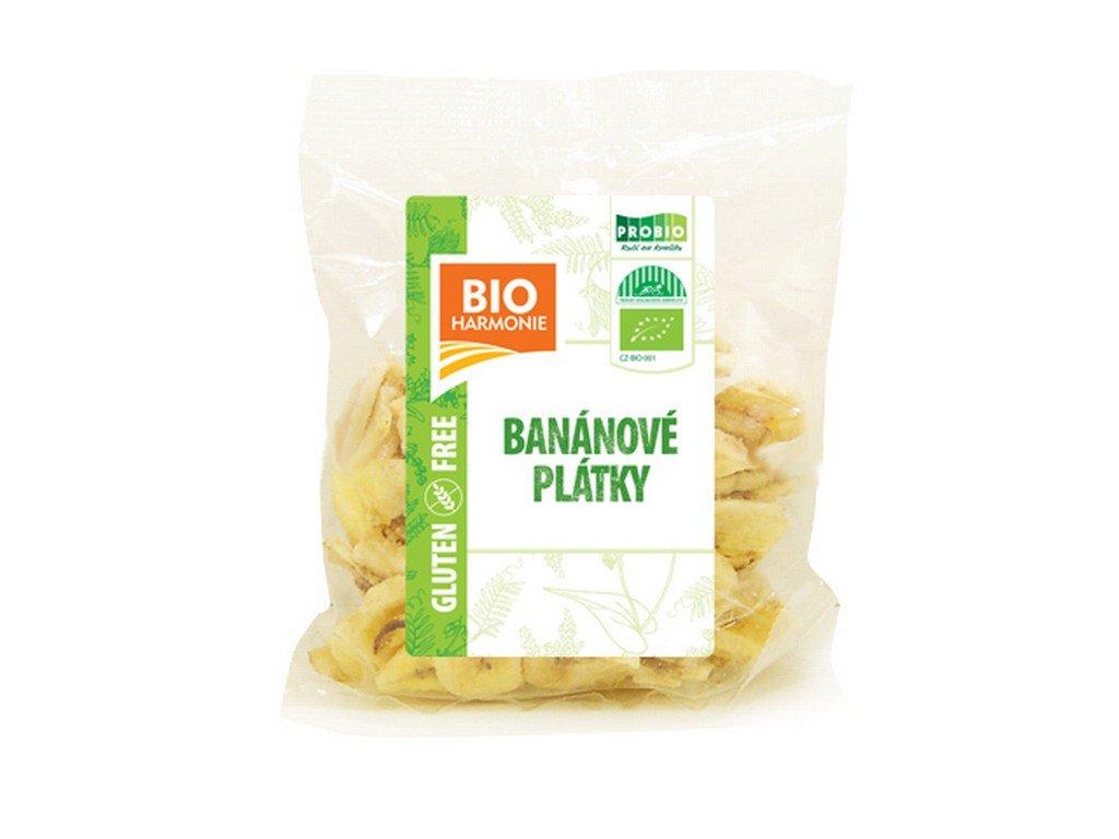 4889 bananove platky bio 150 g