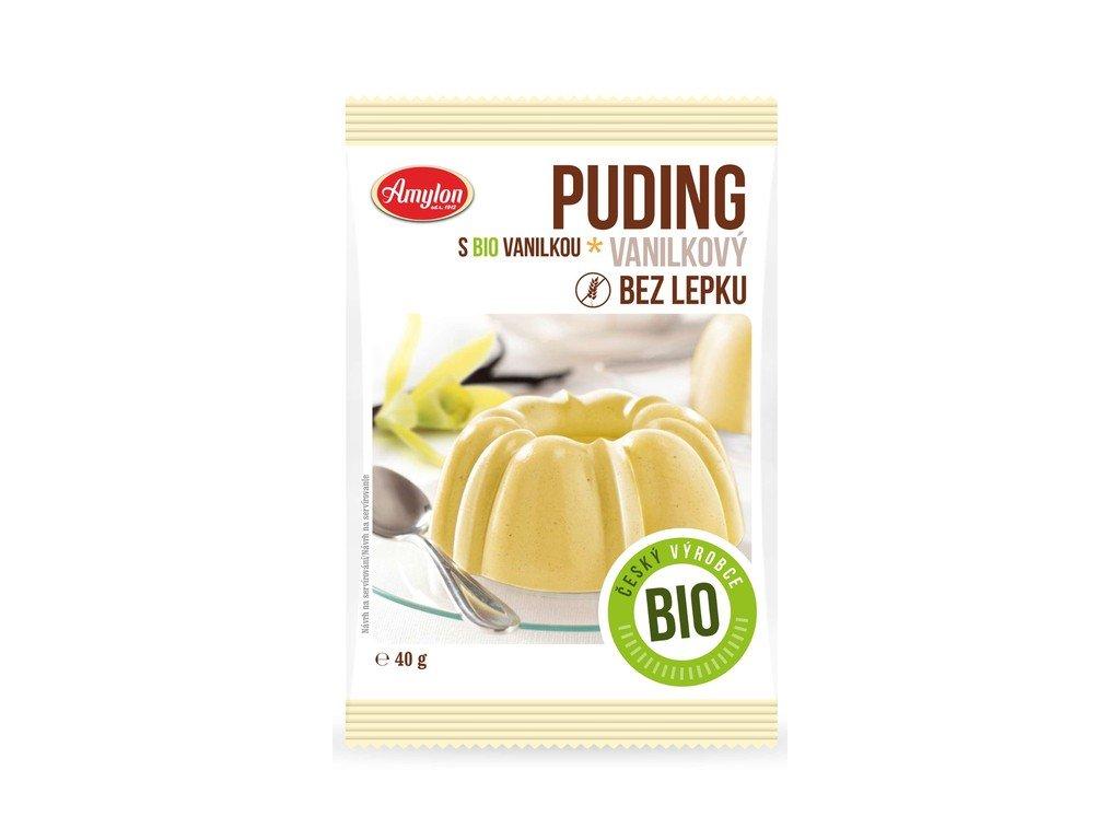 3563 puding vanilkovy bezlepkovy amylon bio 40 g