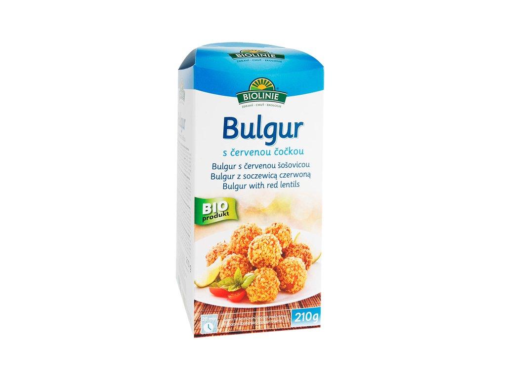 3707 biolinie bulgur s cervenou cockou bio 210 g