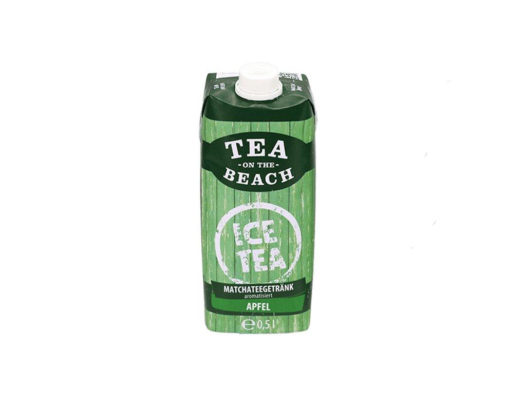 tea on the beach matcha jablko 0,5l