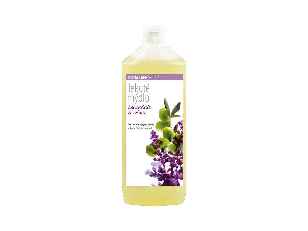 4097 tekute bio mydlo levan oliva dopln bio 1000 ml sodasan