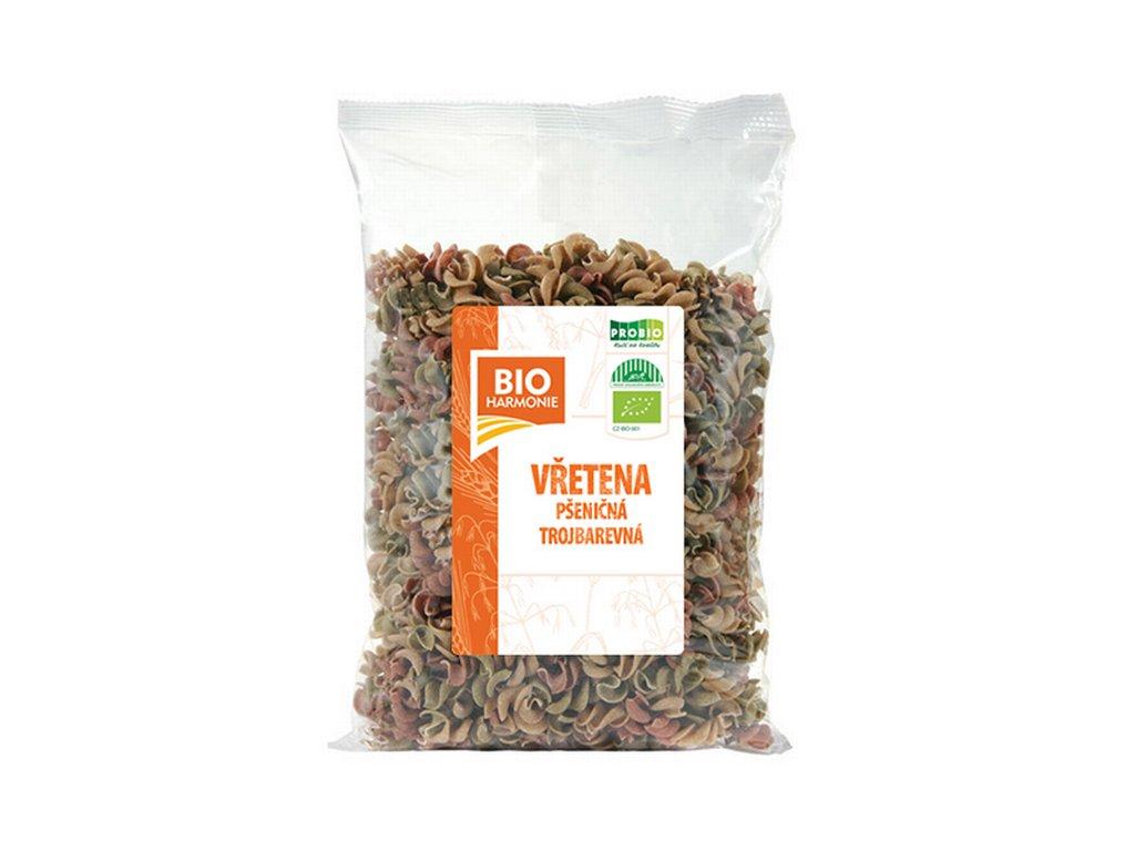 3353 vretena psenicna celozrnna mix bio 400 g