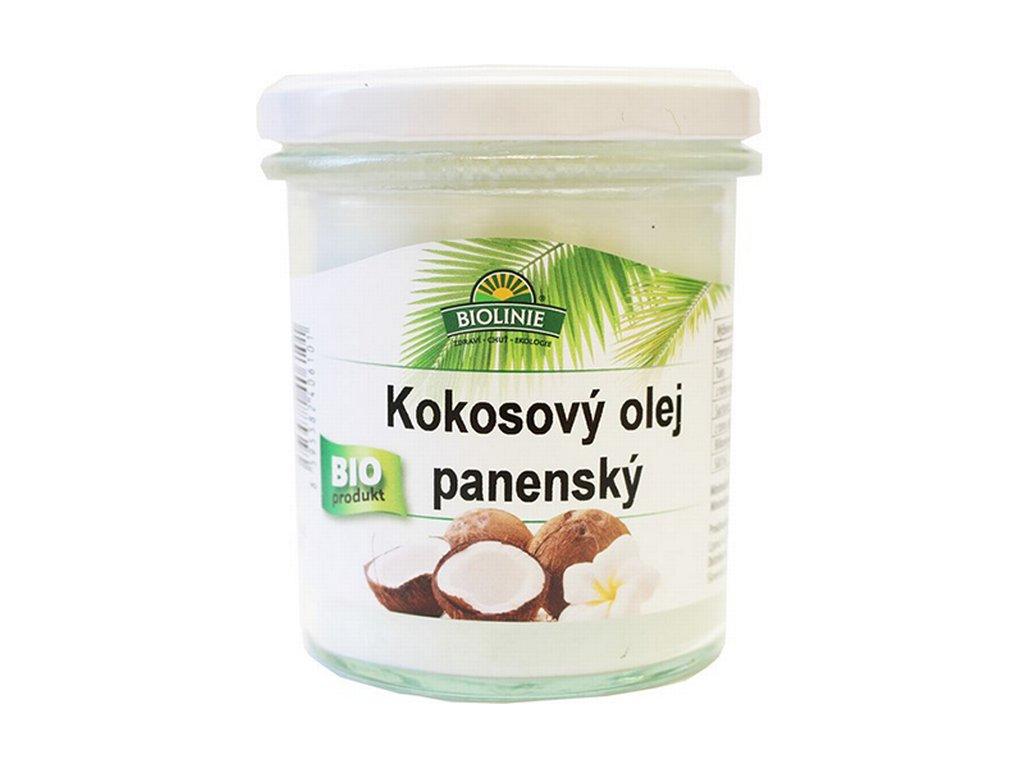 3686 biolinie kokosovy olej panensky bio 240 g