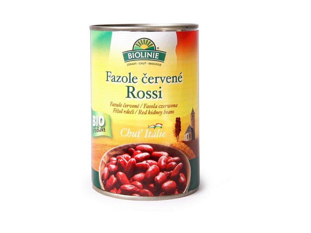 4904 biolinie konzerva fazole cervena rossi bio 400 g