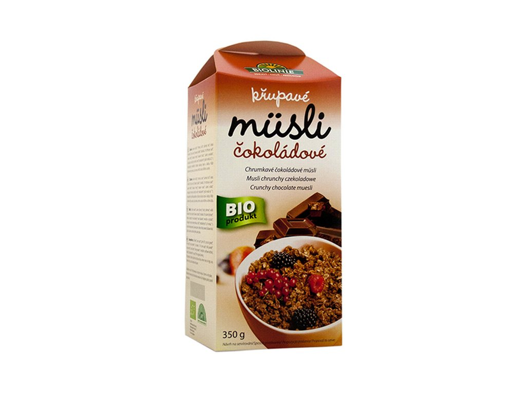 3992 biolinie krupave musli cokoladove bio 350 g