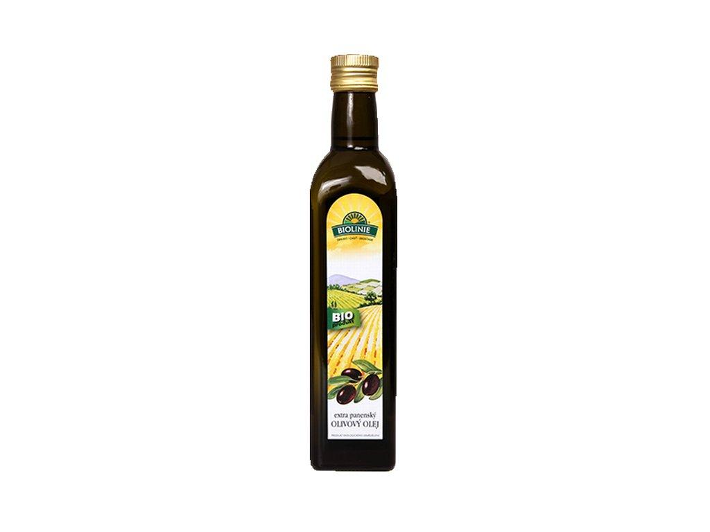 4289 biolinie olej olivovy bio extra panensky bio 0 5 l