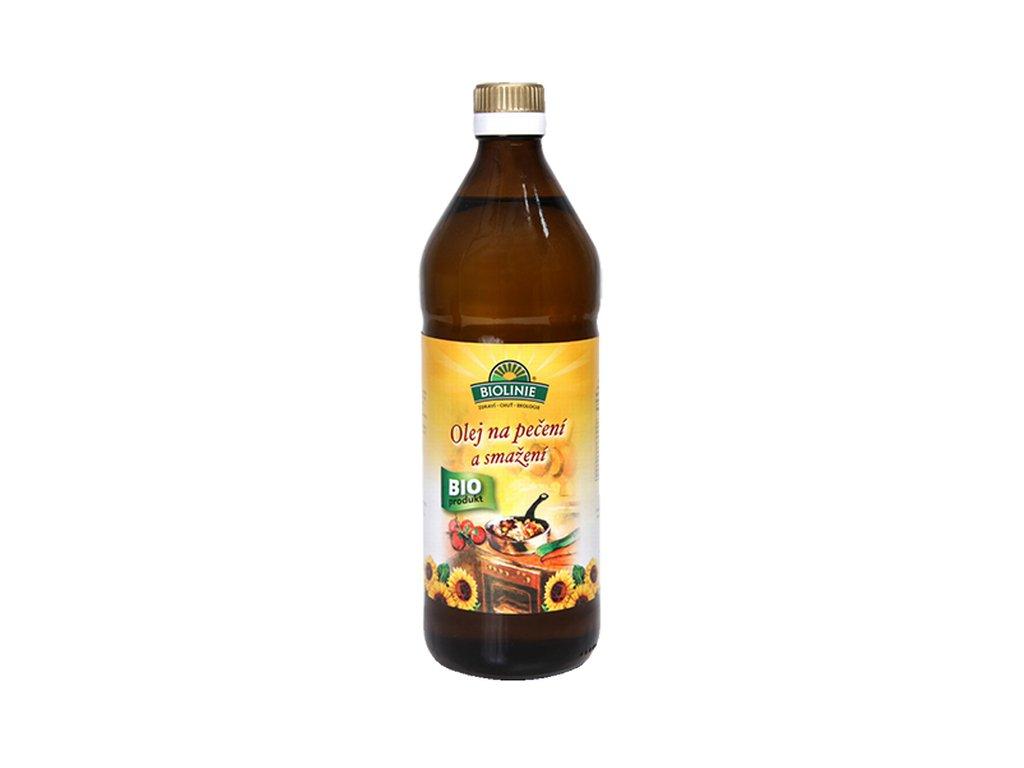 5906 biolinie olej slunecnicovy na peceni a smazeni bio 0 75 l