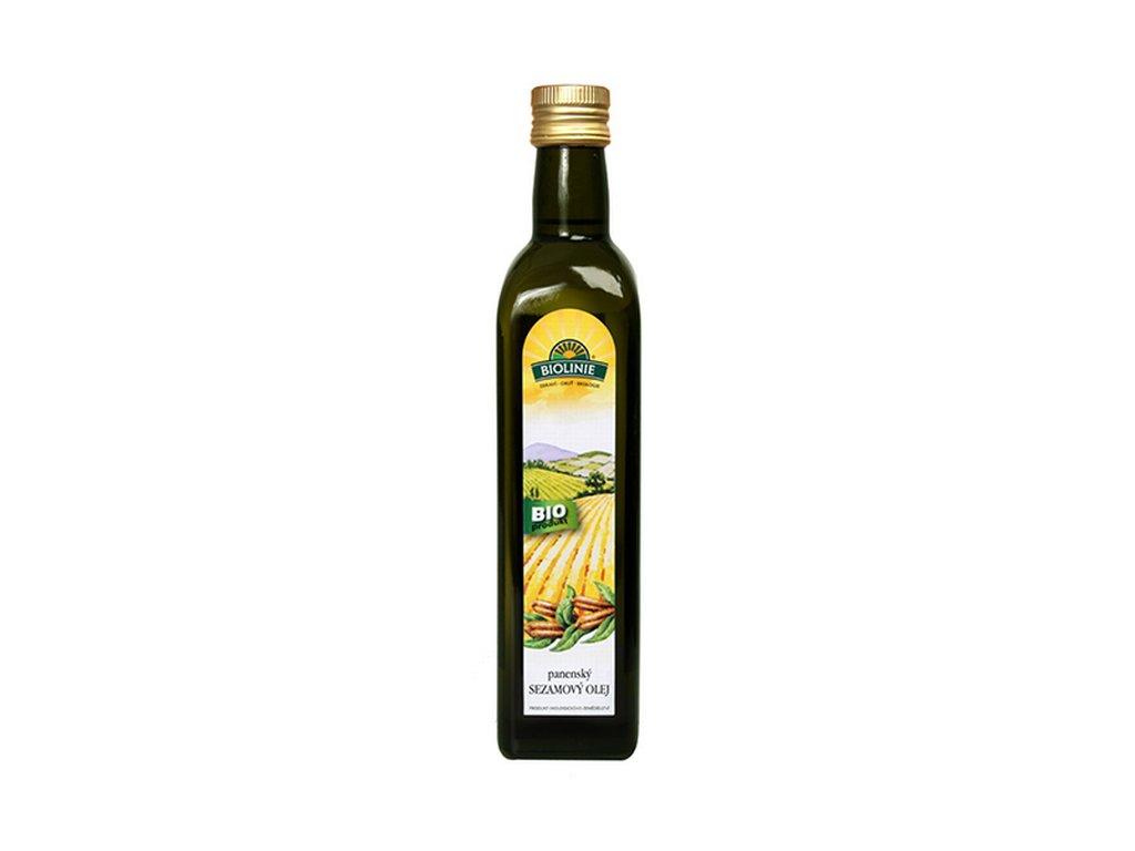 4304 biolinie panensky sezamovy olej bio 0 5 l