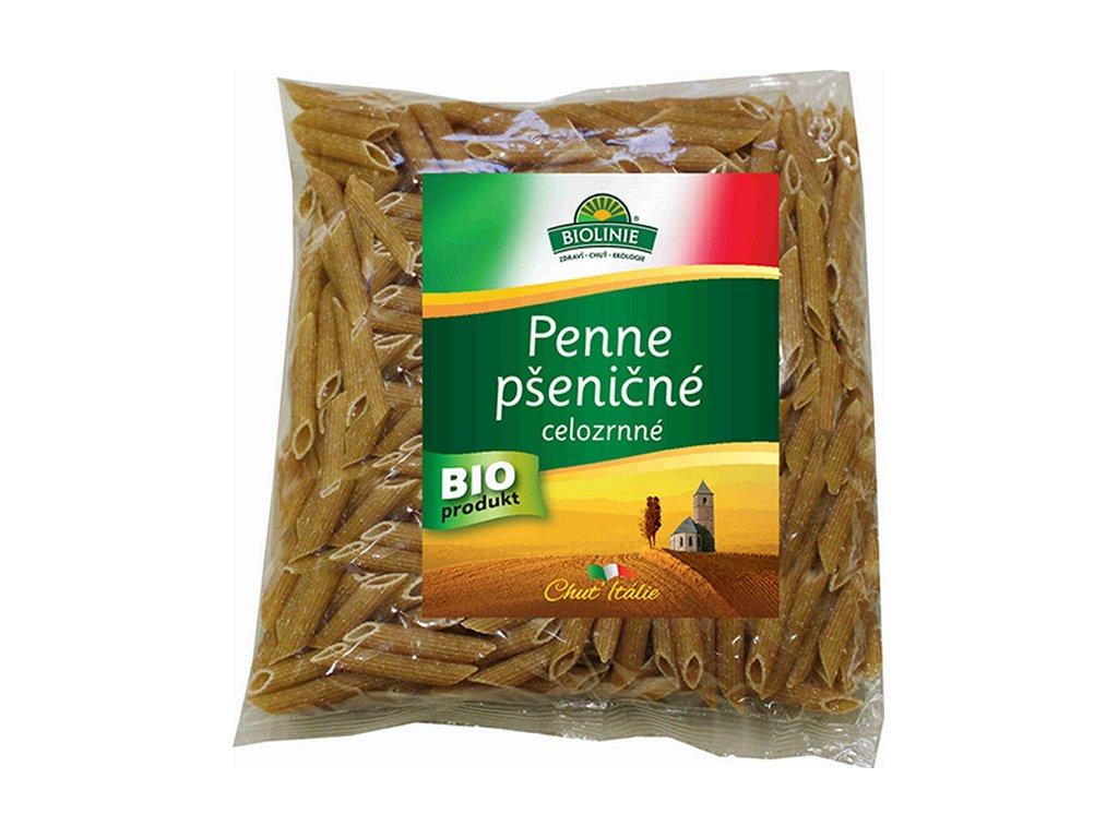 5252 biolinie penne psenicne celozrnne bio 500 g