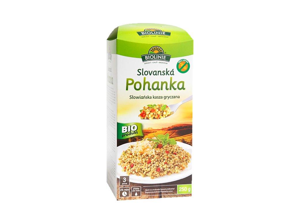 3749 biolinie slovanska pohanka 250 g bio biolinie