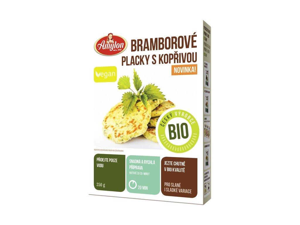 3788 bramborove placky s koprivou bio amylon 250 g