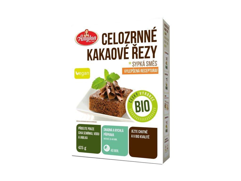 5915 celozrnne kakaove rezy sypka smes amylon bio 425 g
