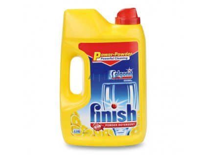 Finish prášek do myčky classic lemon 2,5 kg