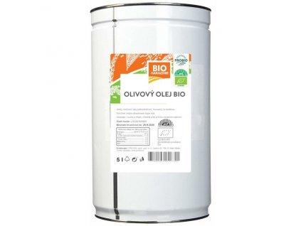 5612 gastro olej olivovy bio extra panensky 1 ks 5 l
