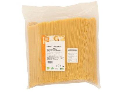 4769 gastro spagety psenicne bile bio 1 ks 5 kg